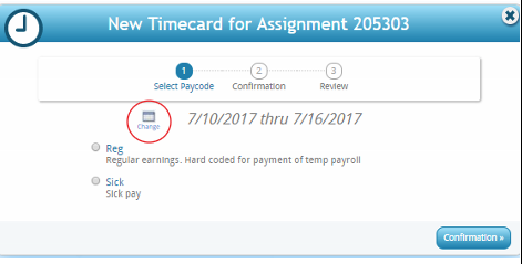 , How do I create and submit my timecard in Webcenter?