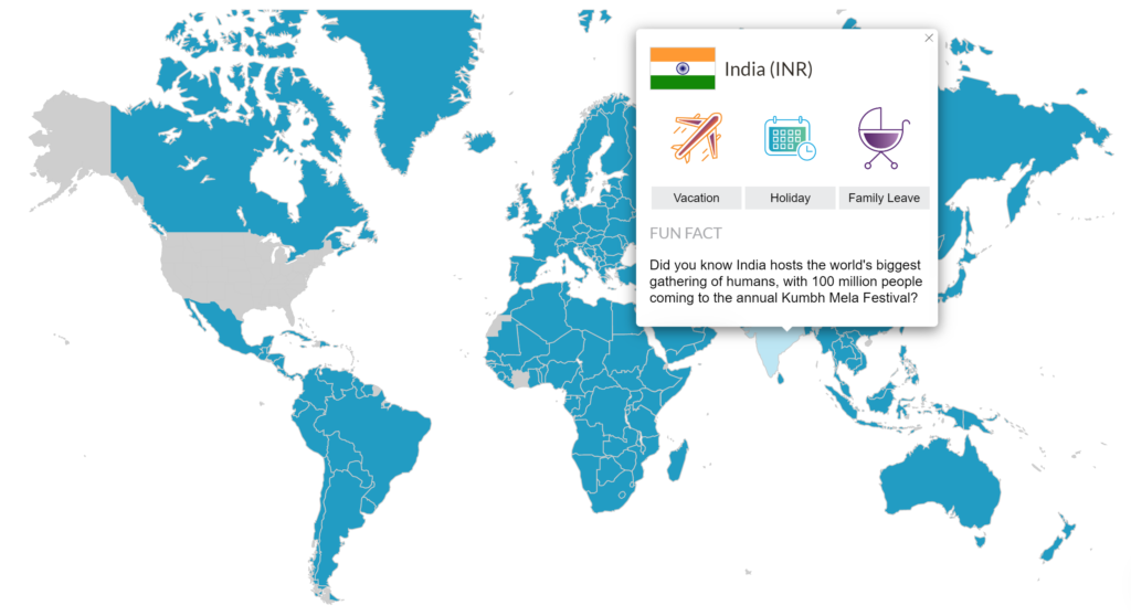 International Payroll Map, Global Employment Made Easy, by TargetCW