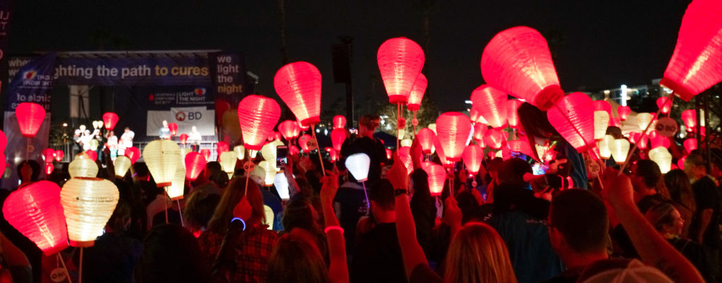 , TargetCW Cares   LLS Light the Night Fundraising and Event