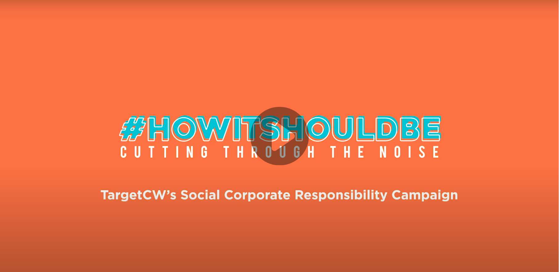 Stevie Award, TargetCW wins a Stevie® Award for Corporate Social Responsibility Program of the Year